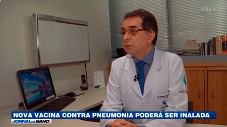 JORNAL DA BAND: Pneumonia e as Vacinas